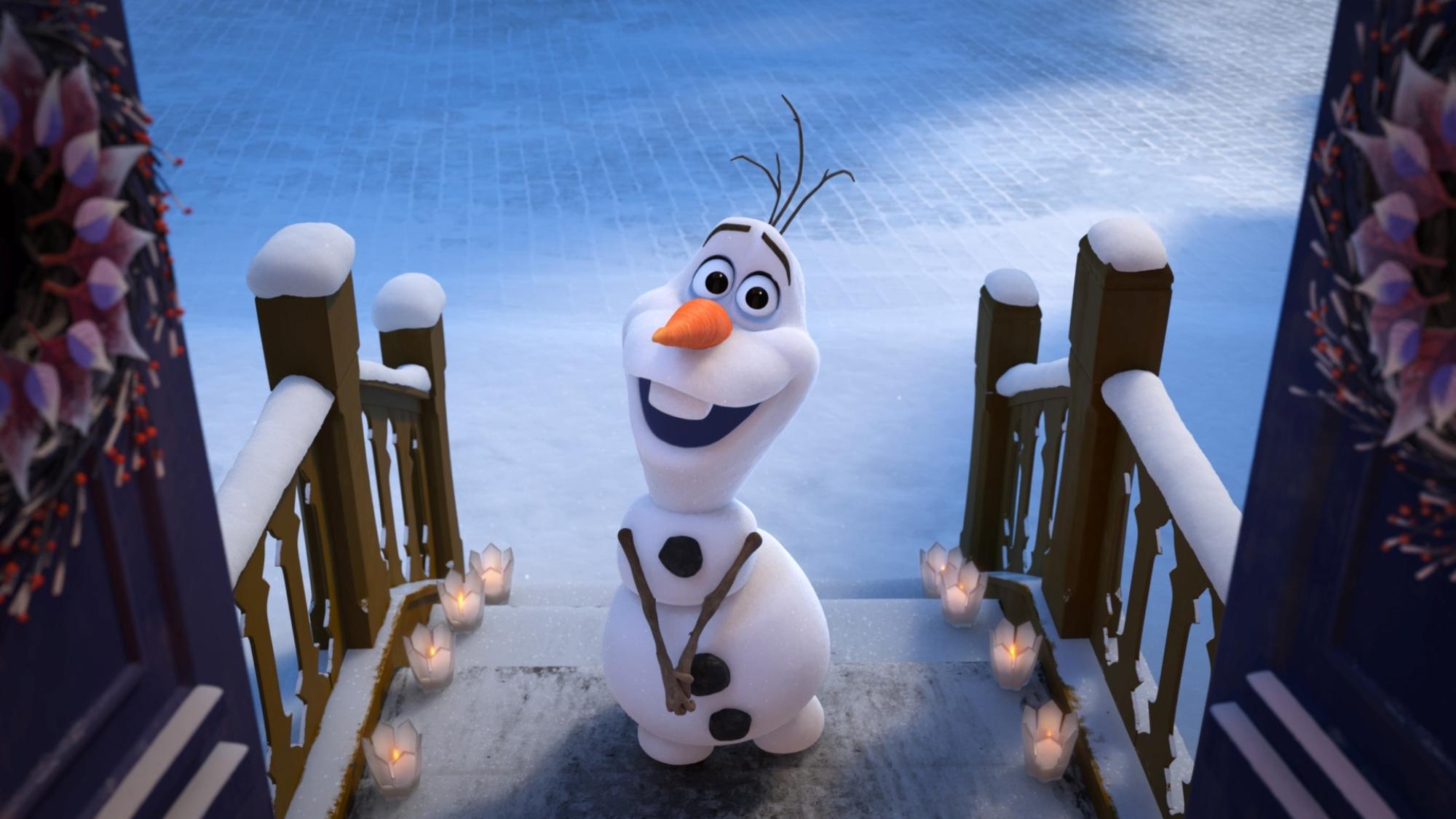 E  sempre  Frozen  con  Le avventure di Olaf
