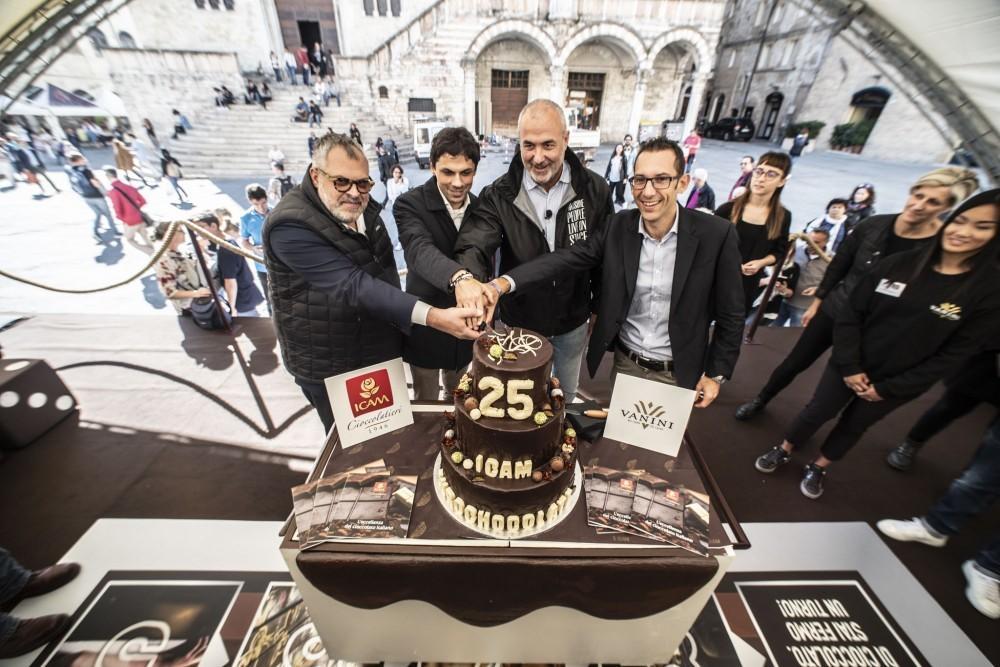 Perugia: 25 anni con Eurochocolate