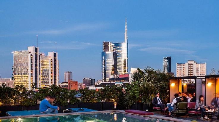 """Milano: 5 terrazze panoramiche da """"gustare"""" in estate - Tgcom24"""