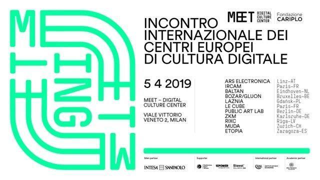 MEETing , il primo incontro internazionale dei centri europei di cultura digitale