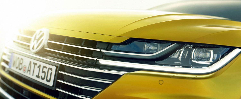 VW Arteon, primi schizzi
