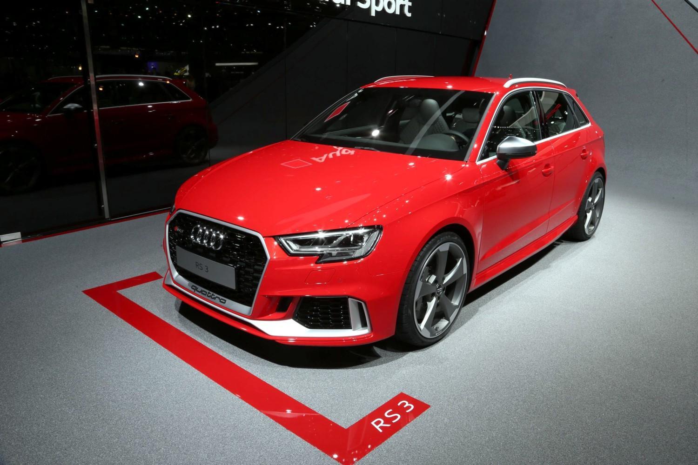 Audi nuova gamma sportive RS 3