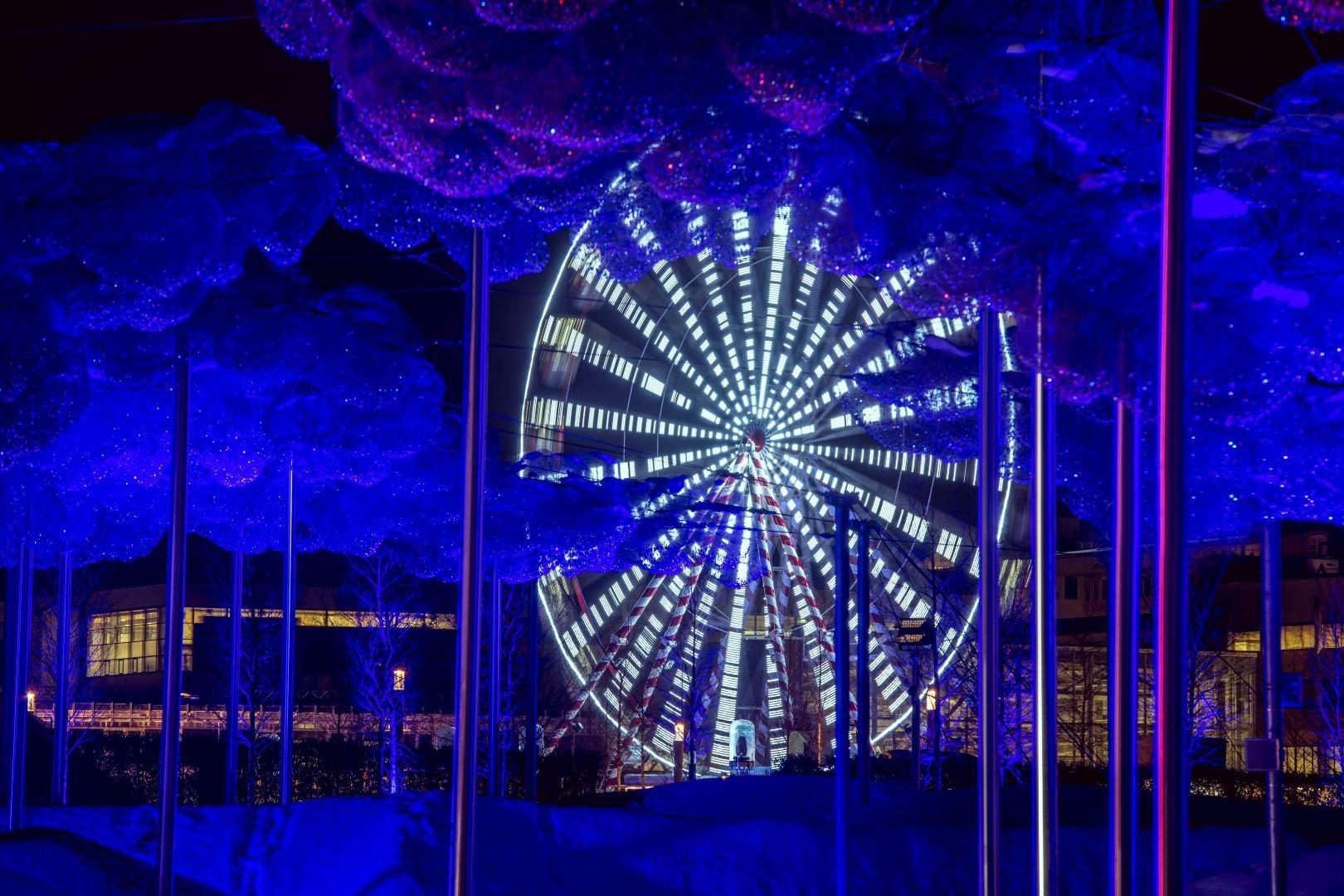 Tirolo: il Mondo Swarovski illumina le notti invernali