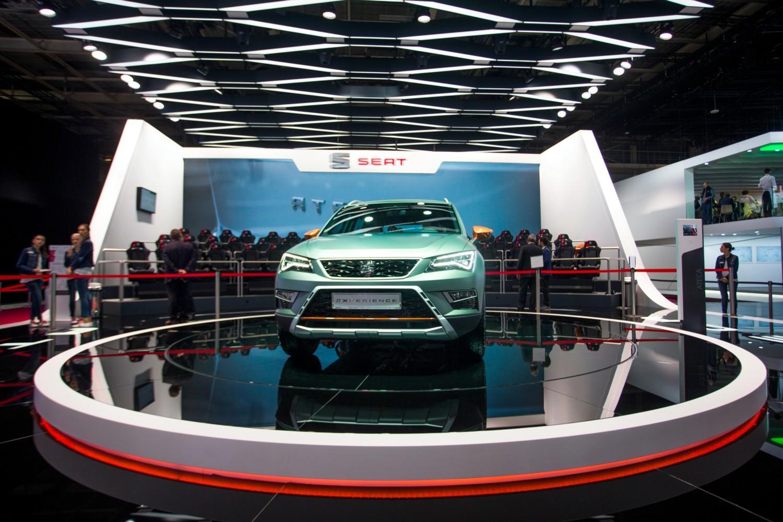 Seat al Mondial Auto di Parigi