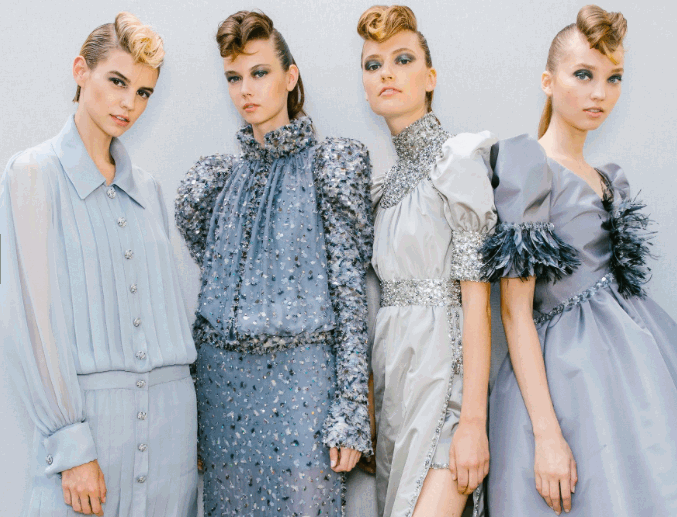 8cd40d4236 Paris Haute Couture A/I 2018-19. L'alta moda diventa giovane - Tgcom24