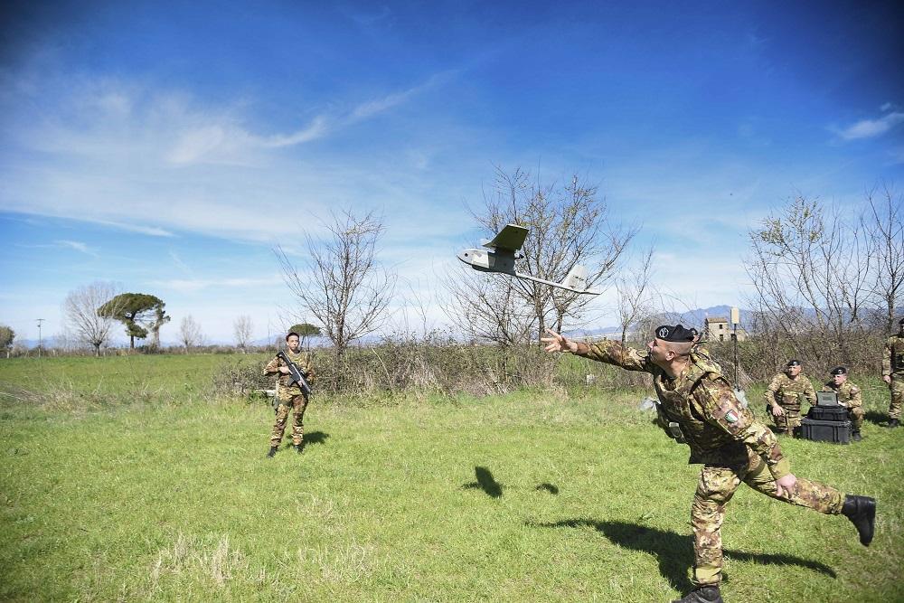 Droni in azione nella Terra dei fuochi contro i roghi tossici