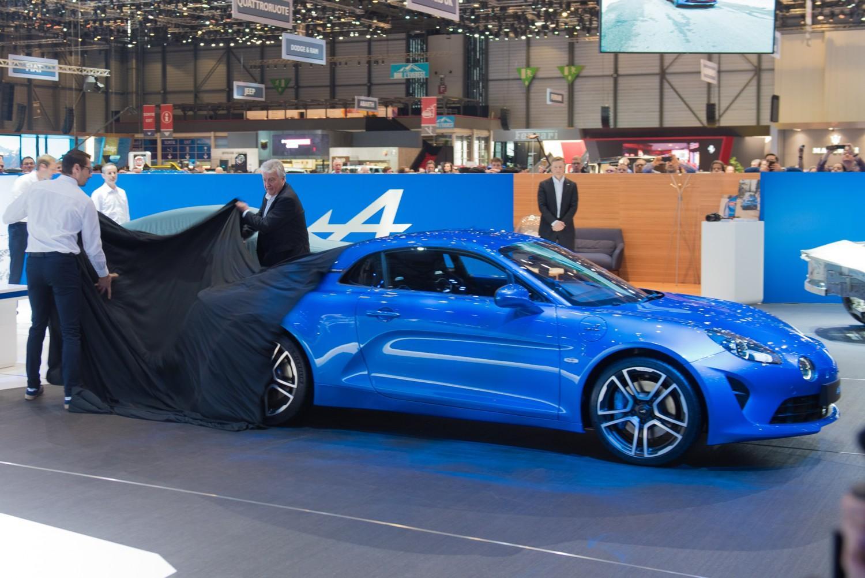 Renault svela la Alpine A110