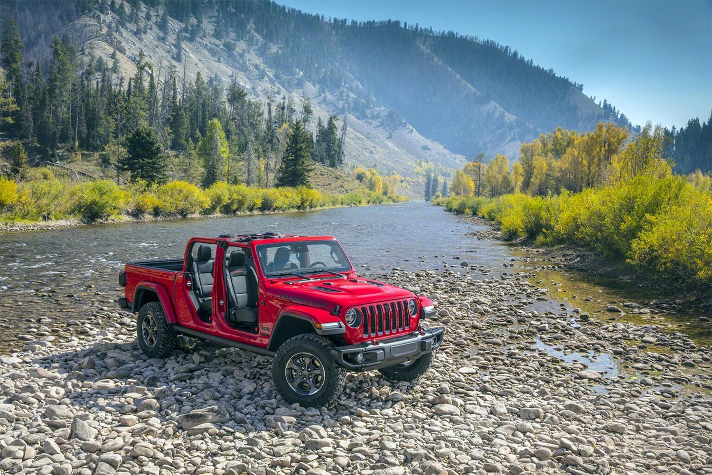 Il Gladiatore a marchio Jeep