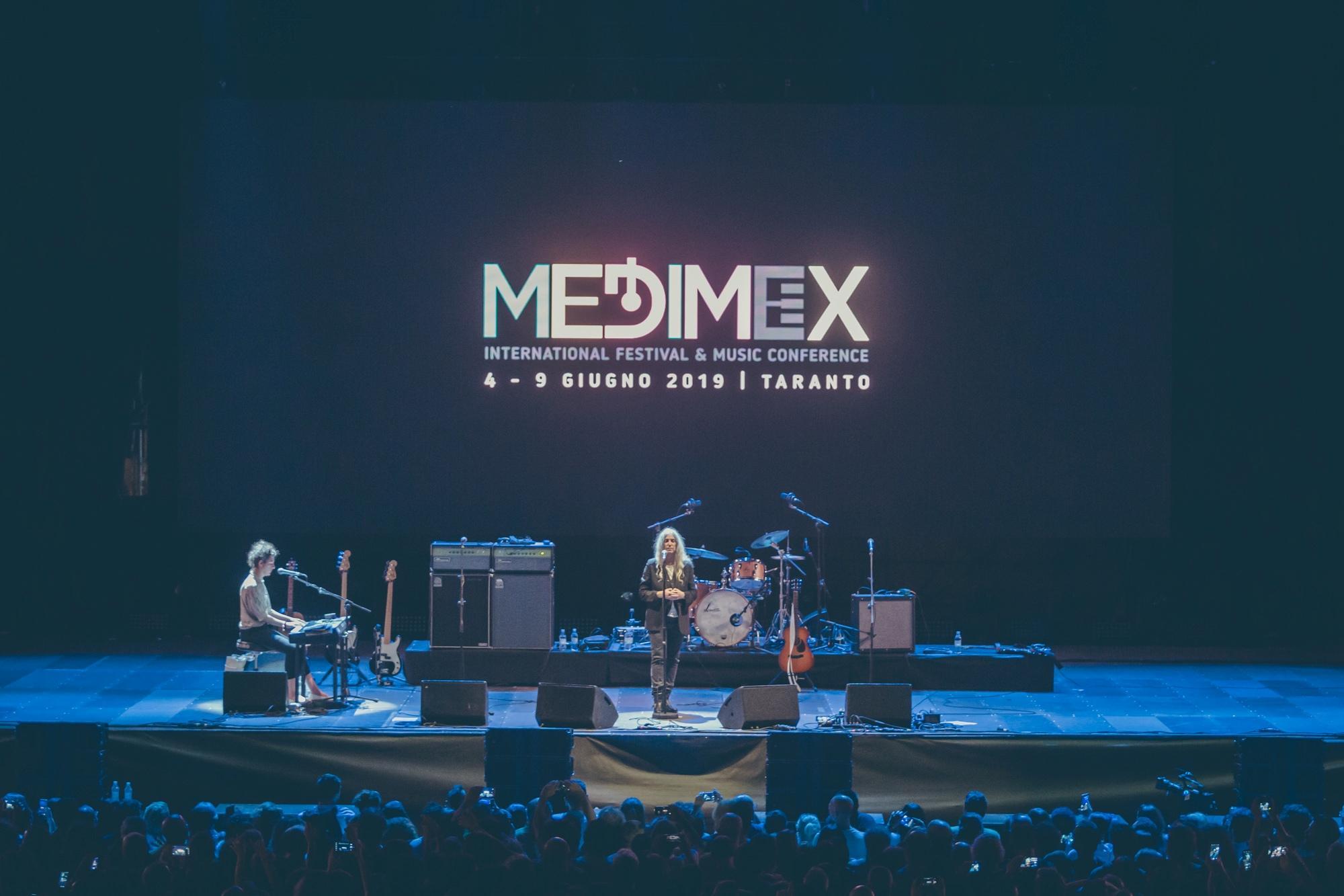 Patti Smith chiude il  Medimex 2019 : guarda le foto del concerto