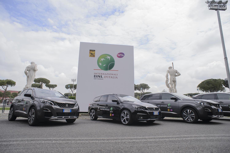 Peugeot, il tennis e la terra rossa