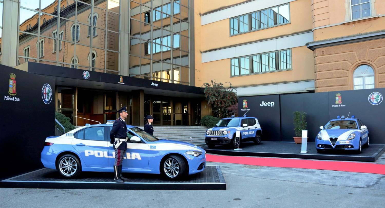 Le nuove auto per la Polizia