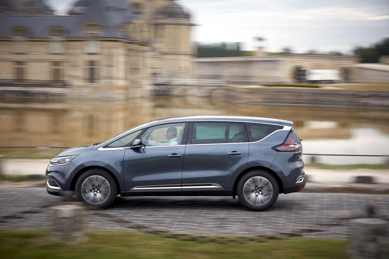 Renault Espace 2017 a Parigi