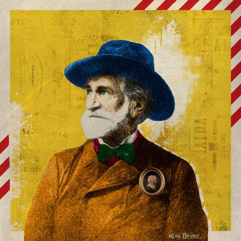 Giuseppe Verdi, soggetto d arte