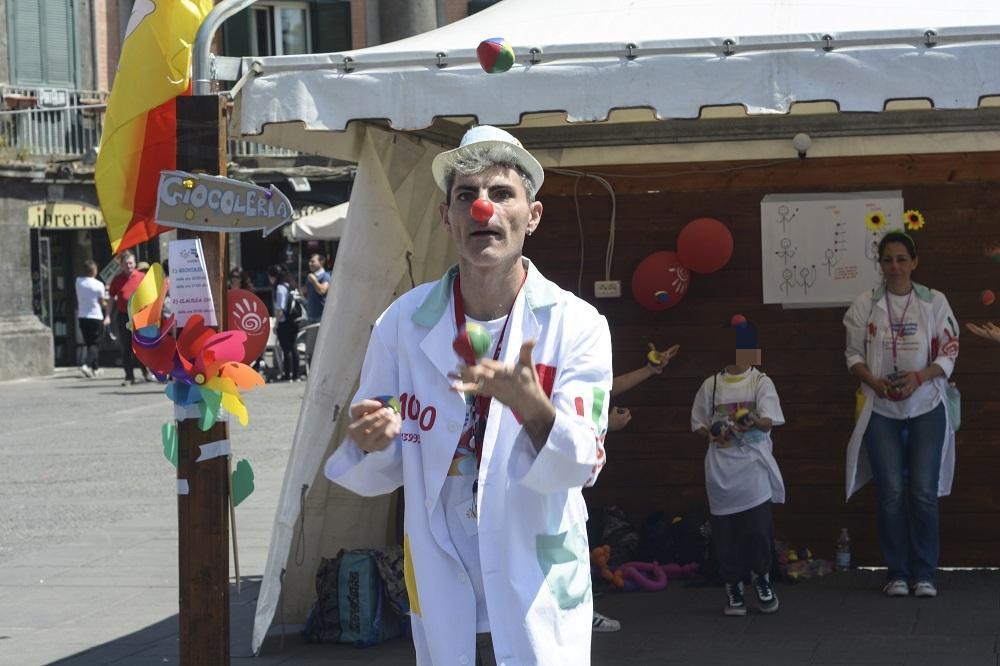 Napoli celebra la clownterapia con la  Festa del sorriso