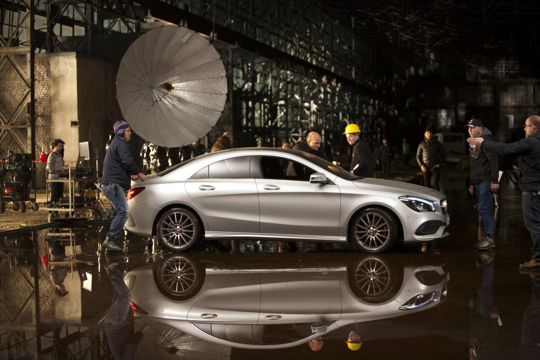 A Milano Moda Donna la nuova Mercedes CLA