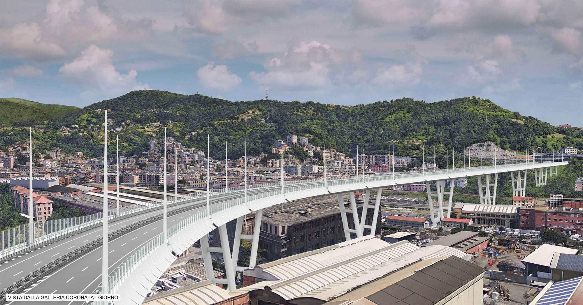Ponte Morandi, ecco il progetto di Aspi