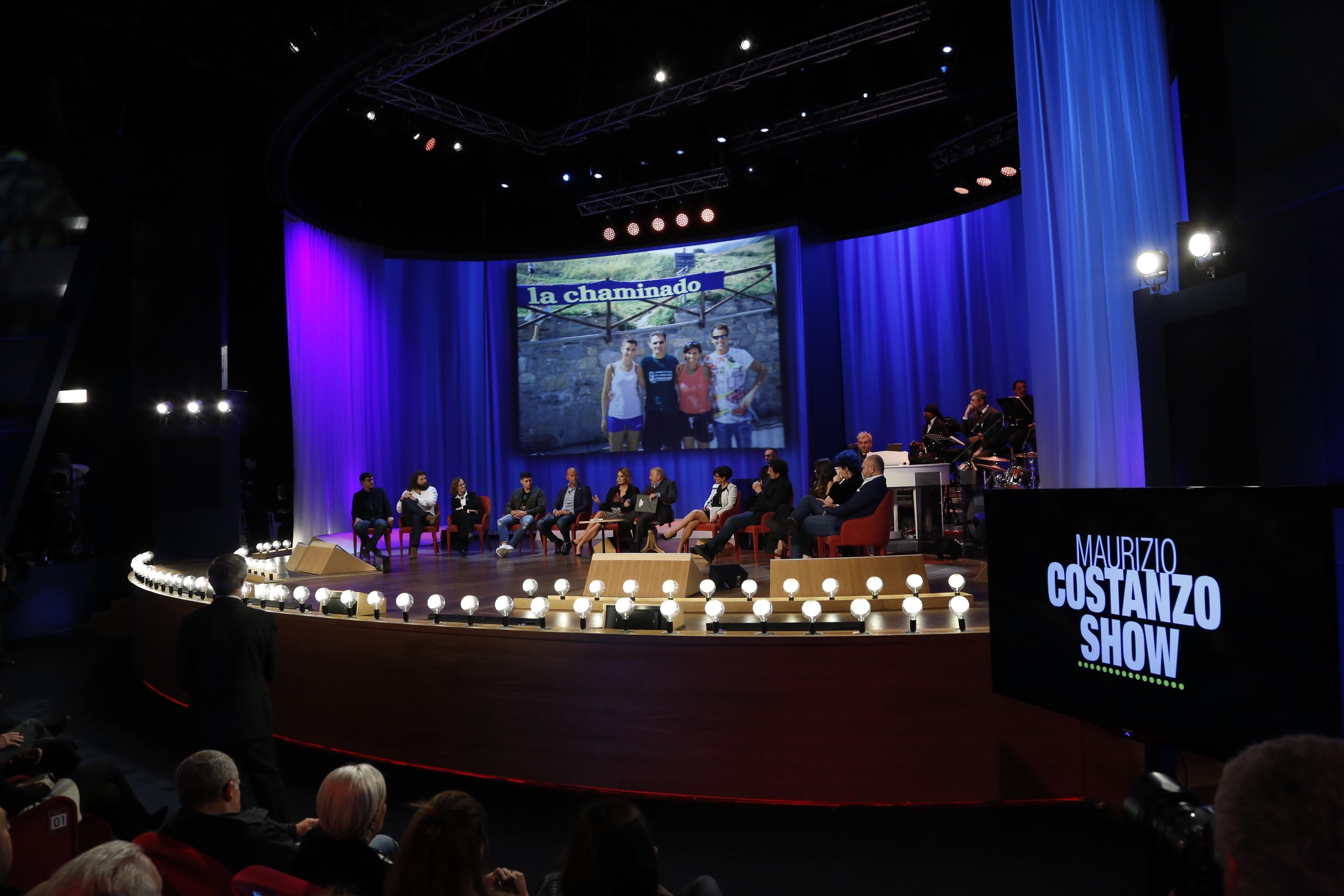 Maurizio Costanzo show , le foto della prima puntata