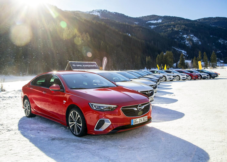 Opel Insignia e la sfida del freddo