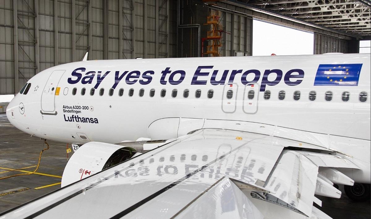 Elezioni europee, Lufthansa si schiera:  Sì a Ue forte