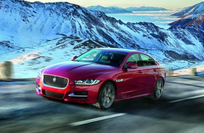 Jaguar, berline diesel XE e XF con trazione 4x4