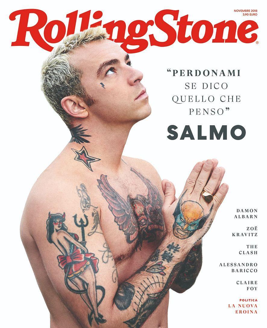 Salmo, anomalia del rap italiano