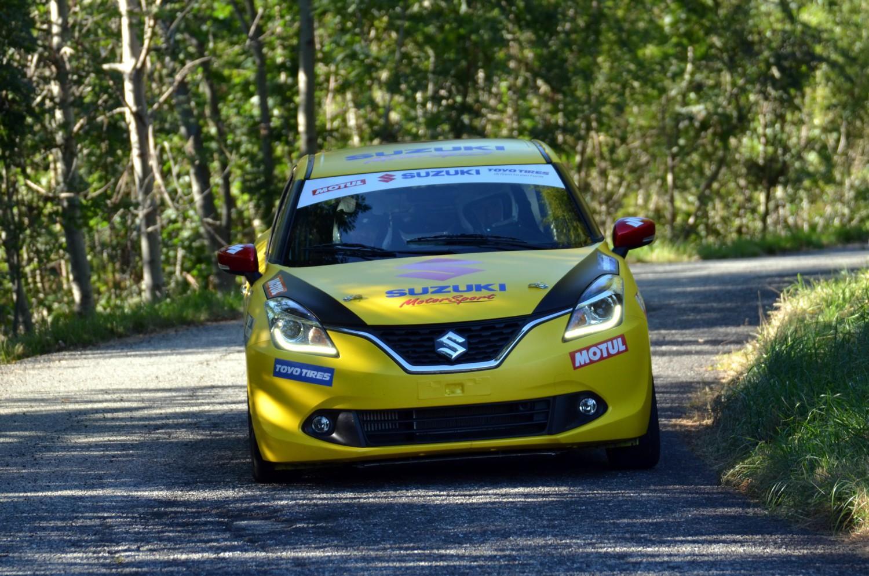 Suzuki Baleno SR al Rally Roma Capitale