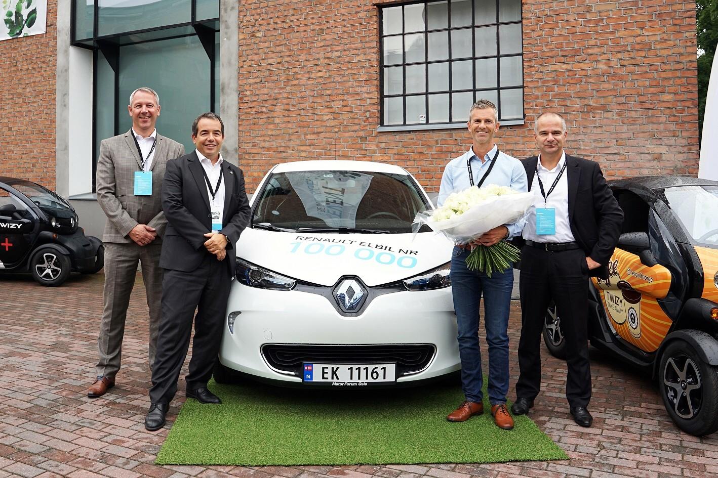 A Oslo la 100.000° Renault elettrica