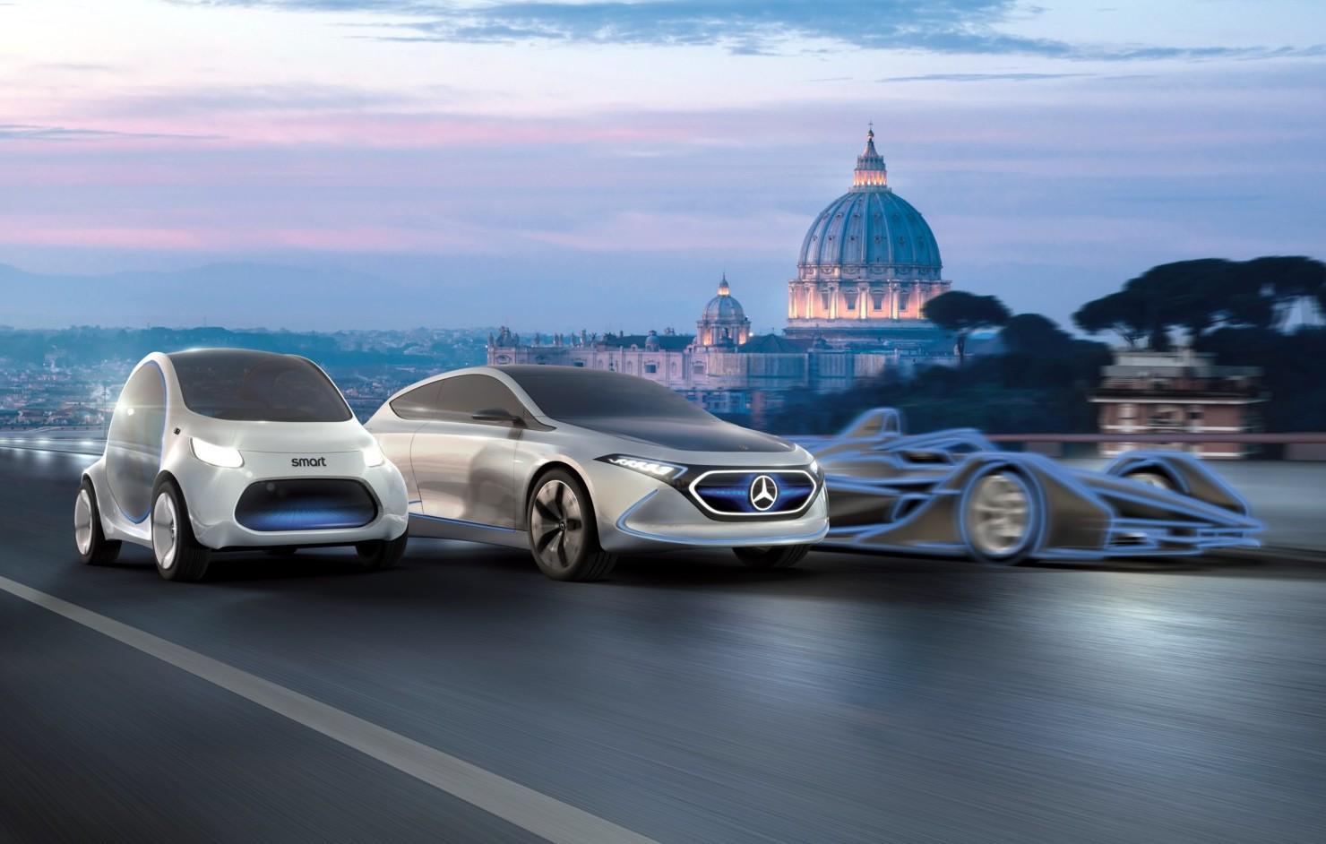 Mercedes EQ illumina Roma