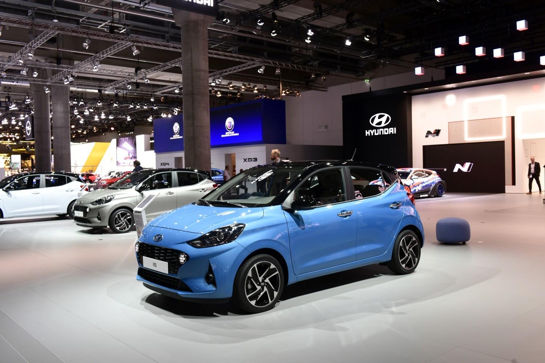 Lo stand Hyundai a Francoforte