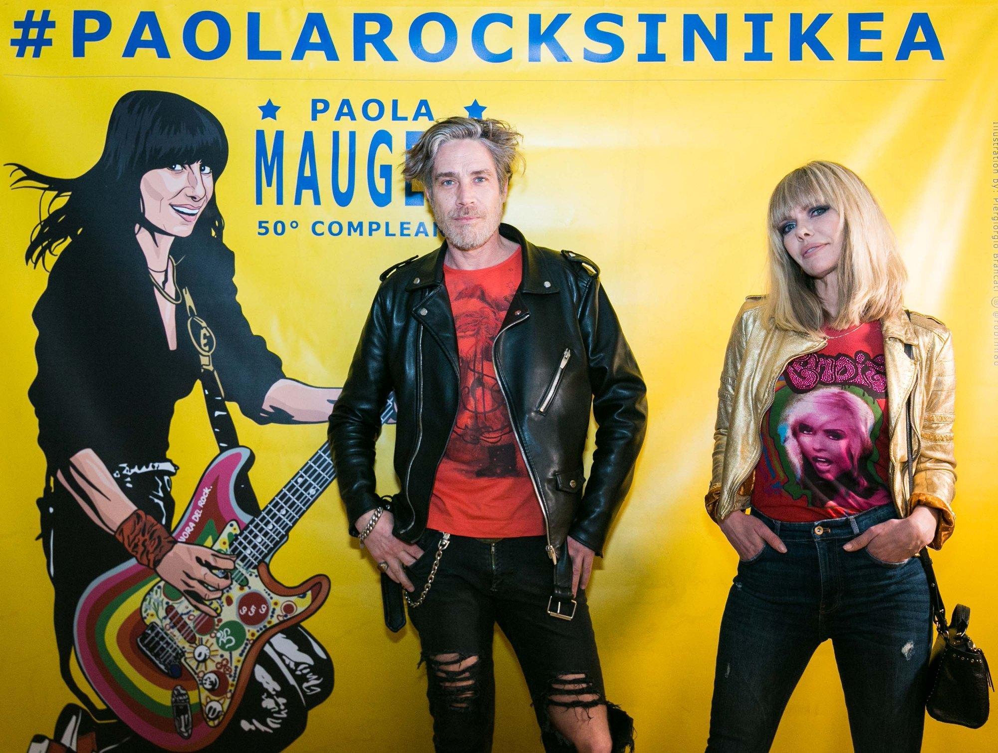 Paola Maugeri, una festa da vera rockstar per i suoi 50 anni