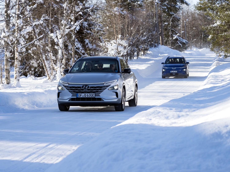 Hyundai, test estremi all'Artico