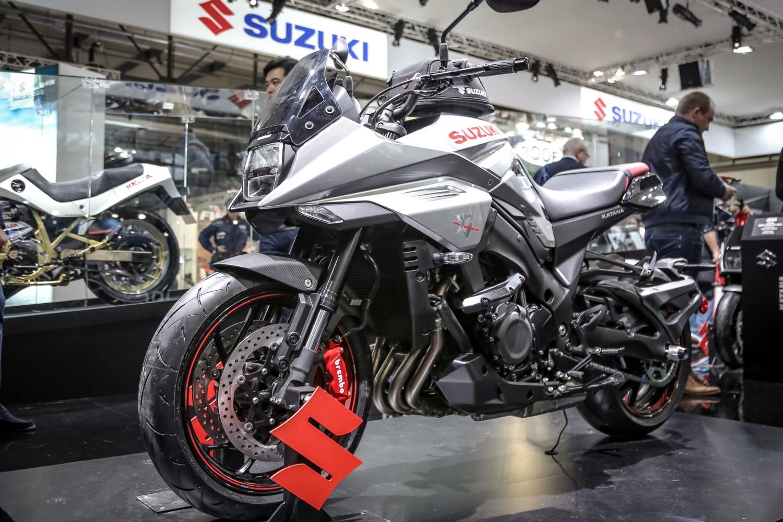 Suzuki a Eicma 2018
