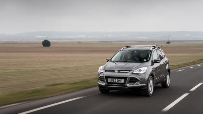Ford Kuga, la strategia 4WD