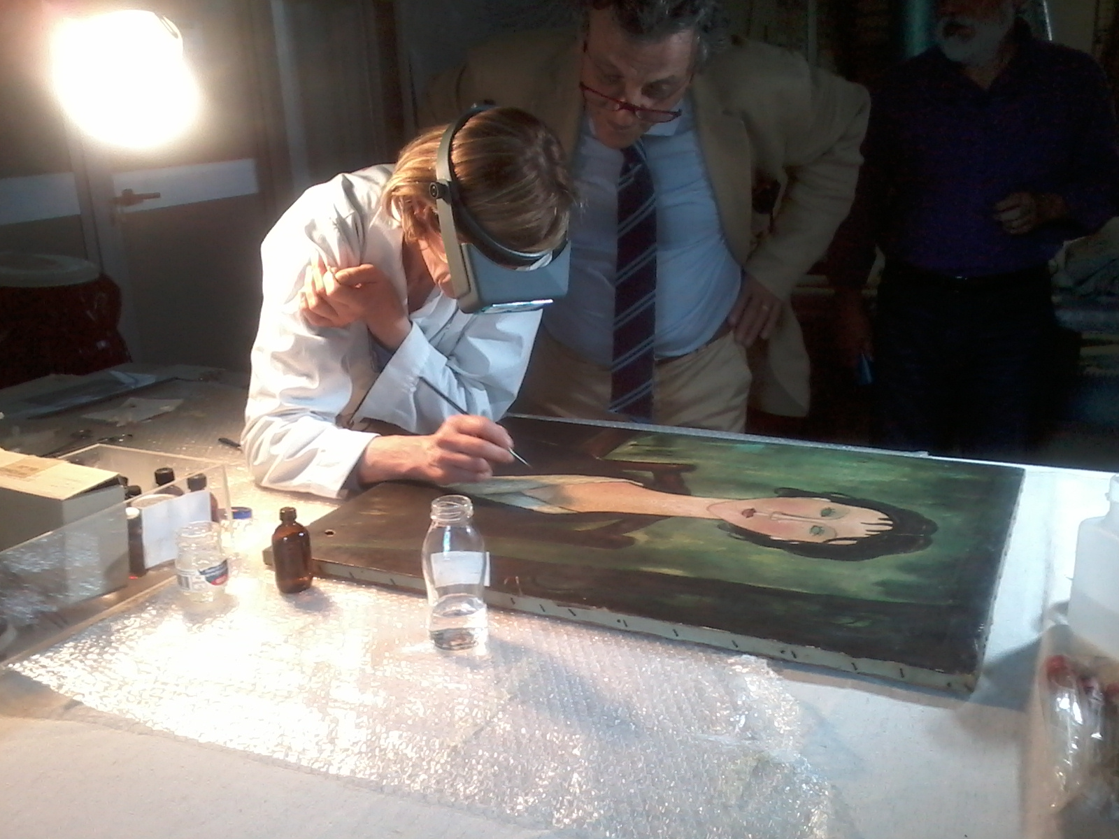 In mostra a Spoleto il Modigliani trovato a Roma nella spazzatura