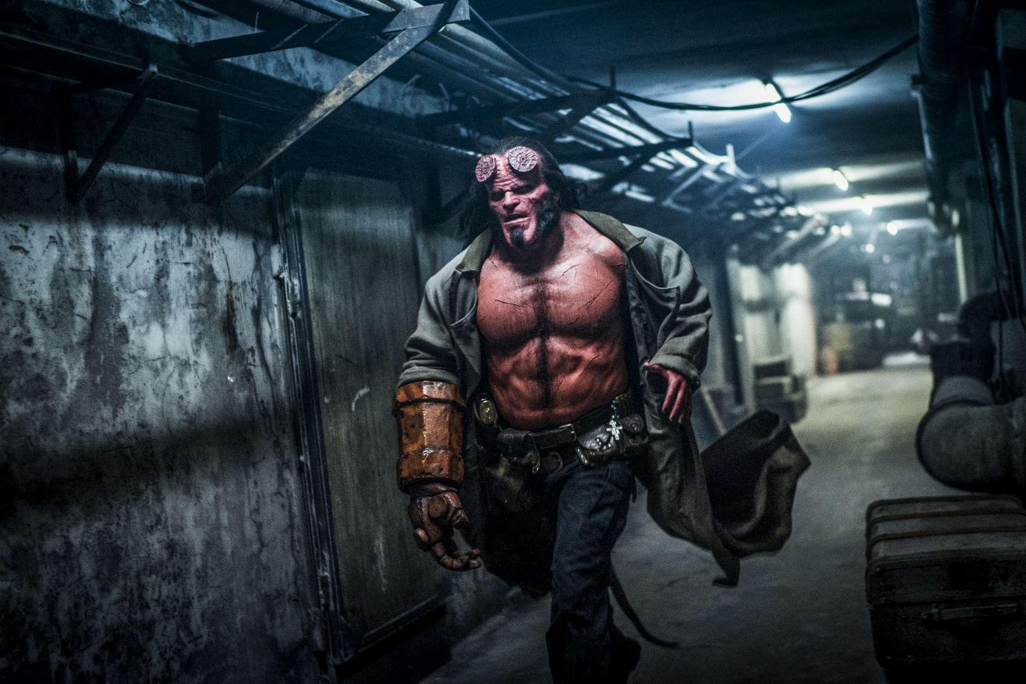 Hellboy , le immagini del reboot
