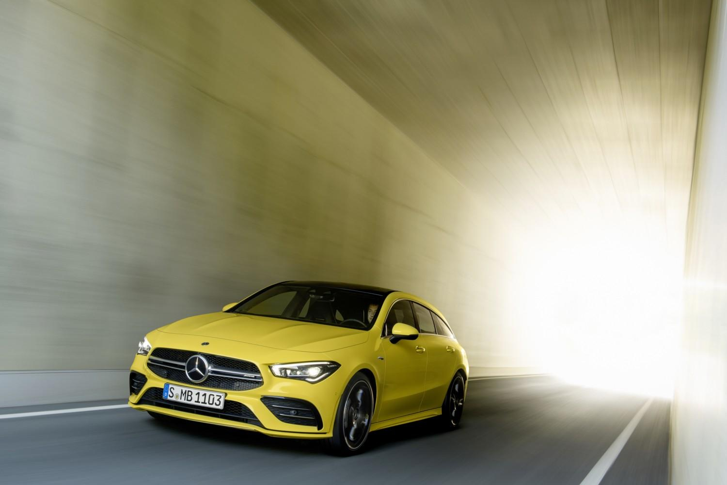 AMG CLA 35 4Matic Shooting Brake