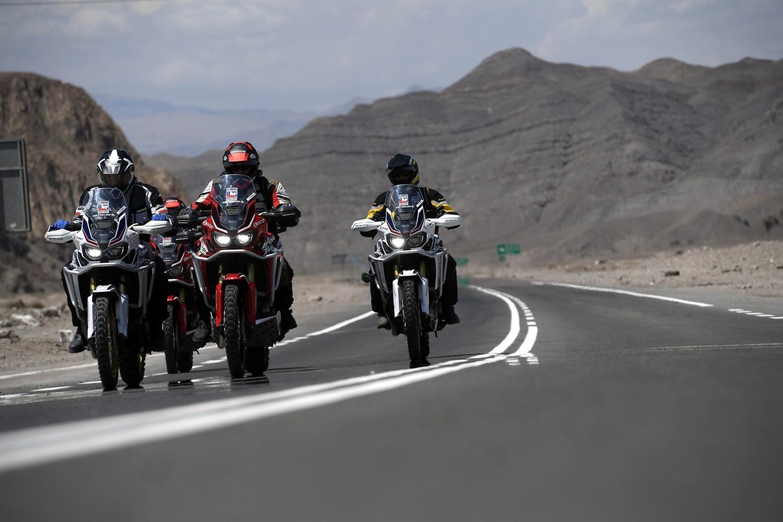 Honda e Metzeler, avventura sulle Ande