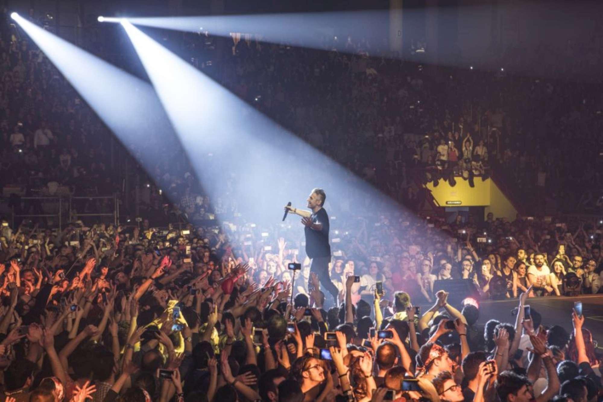 Luciano Ligabue, le immagini della prima data del nuovo tour