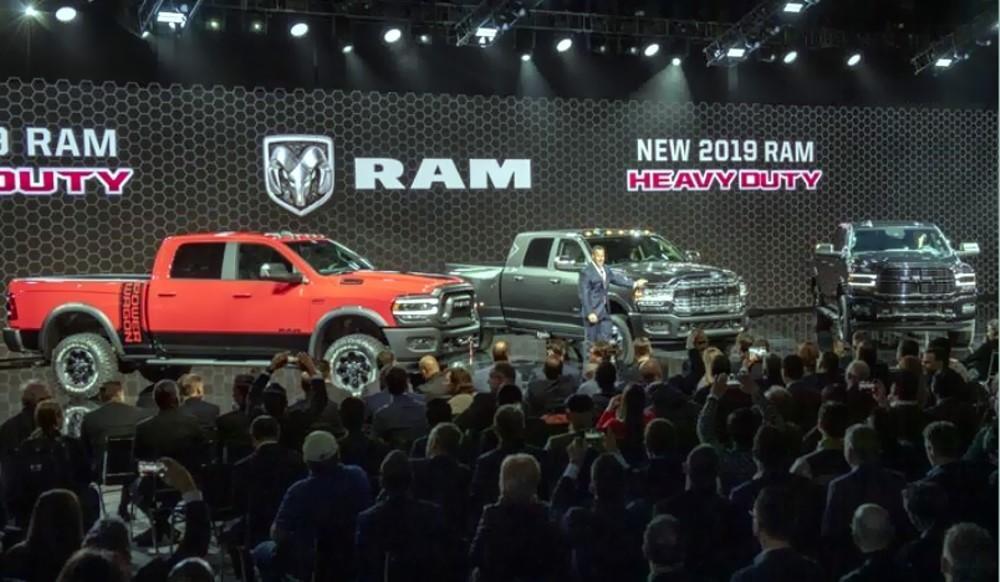 Ram e la passionaccia pick-up degli americani