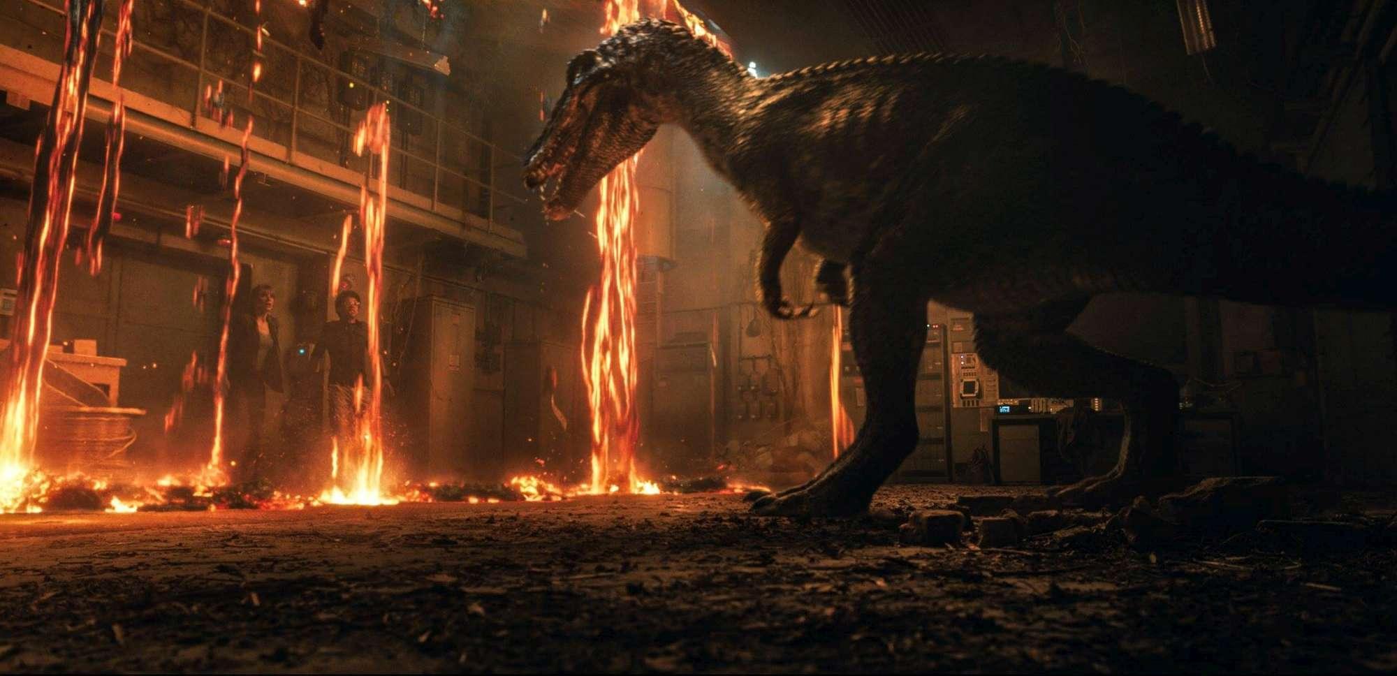 Jurassic World - Il Regno Distrutto , guarda le immagini più belle