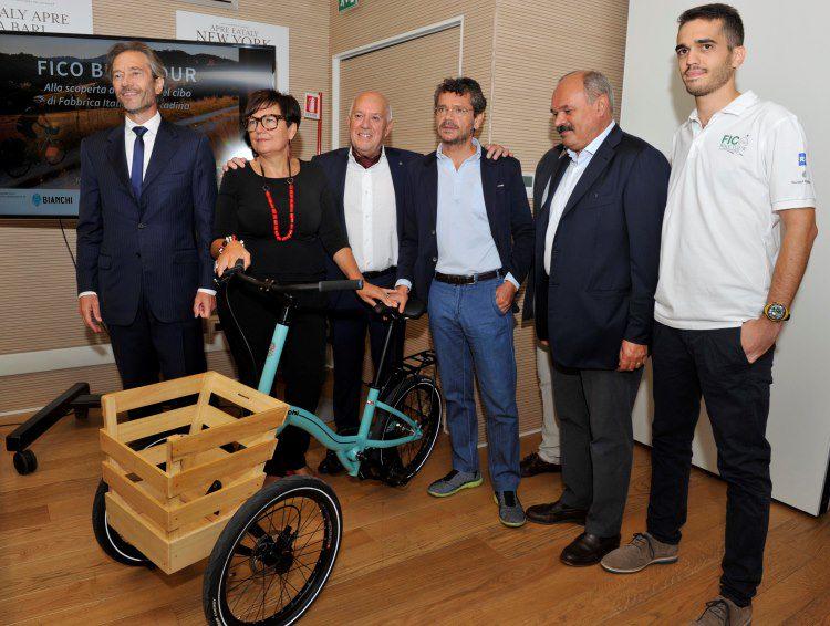La bici Bianchi Fico per Eataly