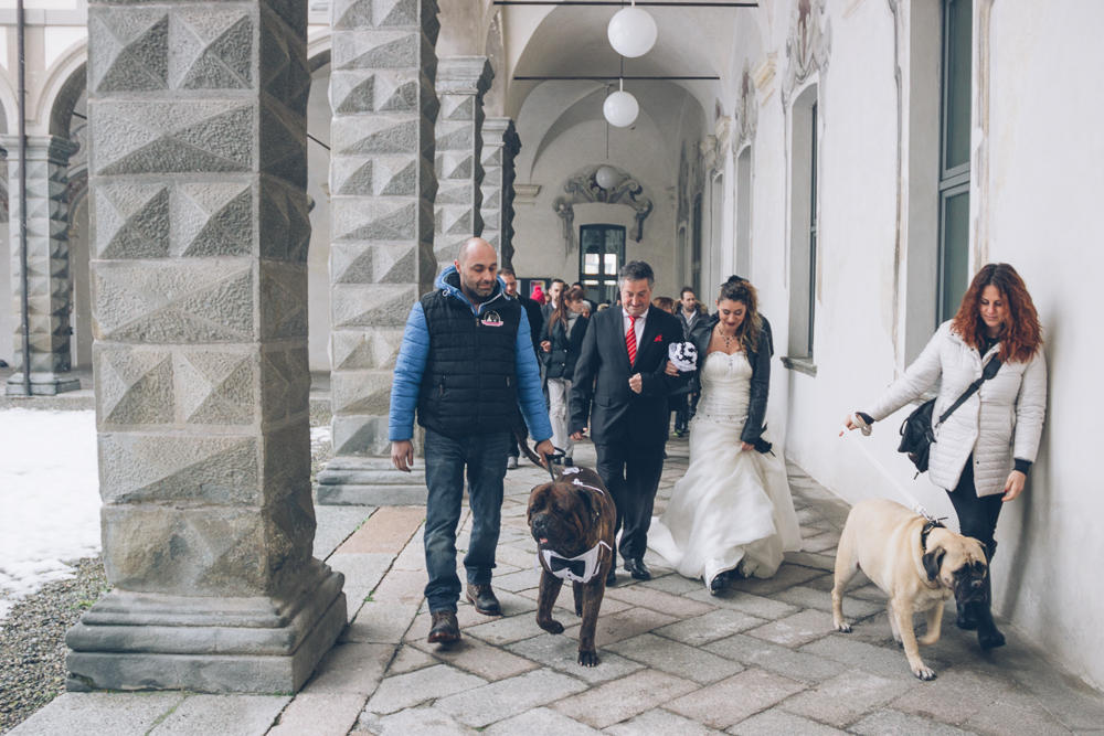 Questo matrimonio con i cani... non s ha da fare : e gli sposi cambiano Comune