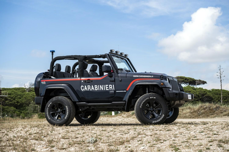 Jeep Wrangler al servizio dell'Arma dei Carabinieri