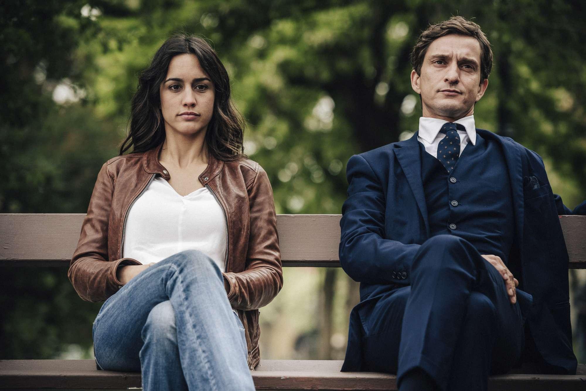 Megan Montaner e Alessandro Tiberi nella fiction di Canale 5  Lontano da te