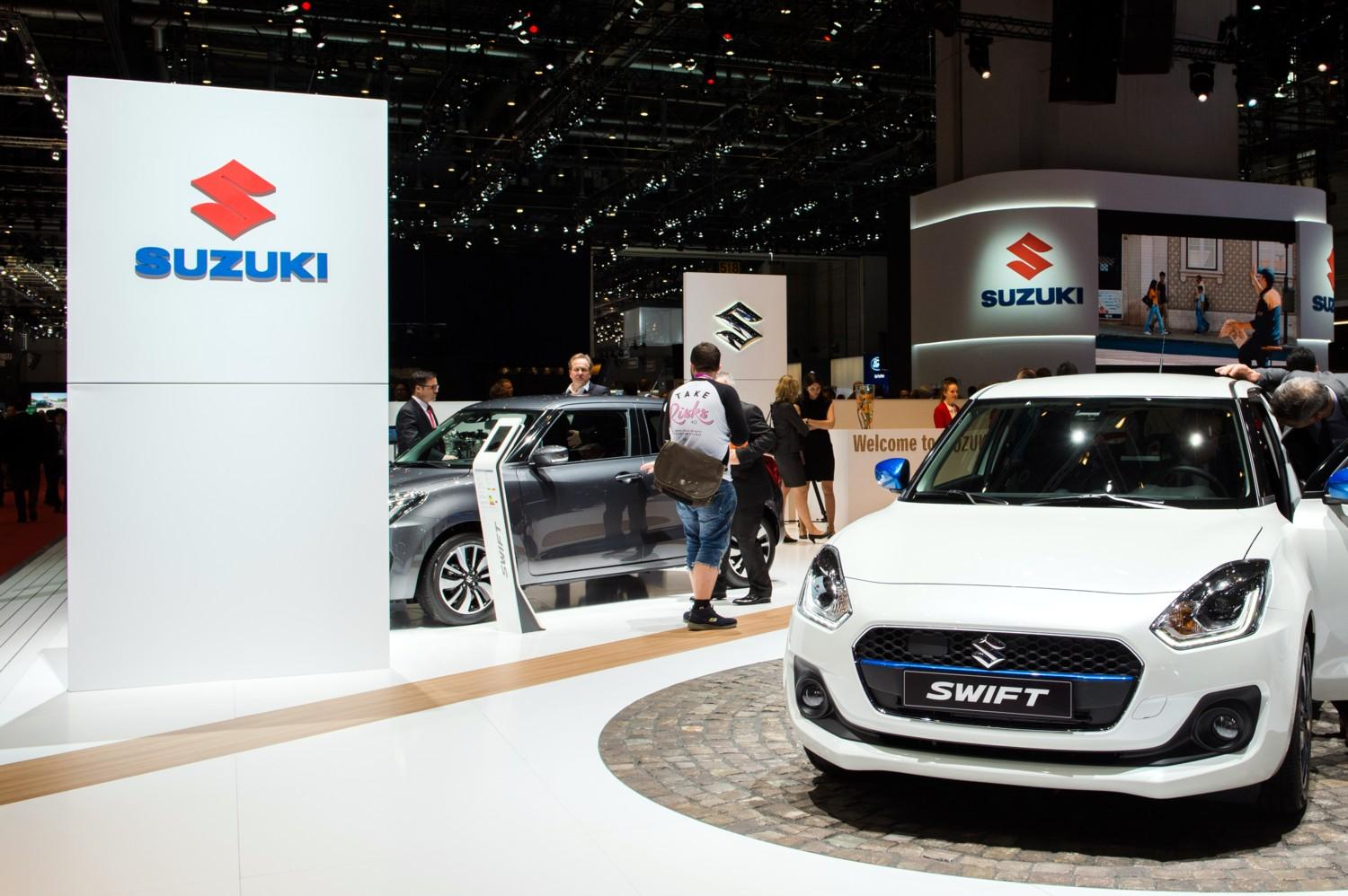 Suzuki Swift a Ginevra