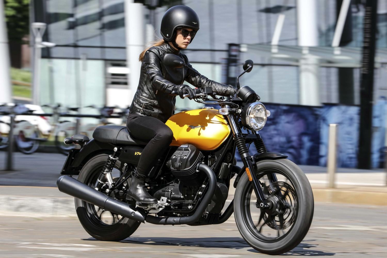 Le nuove Moto Guzzi V7