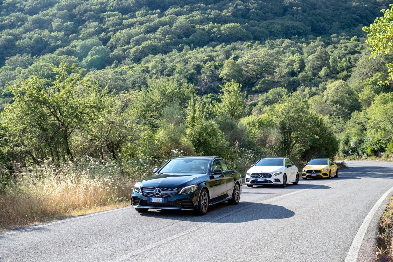 Le Baby-Benz a tre volumi