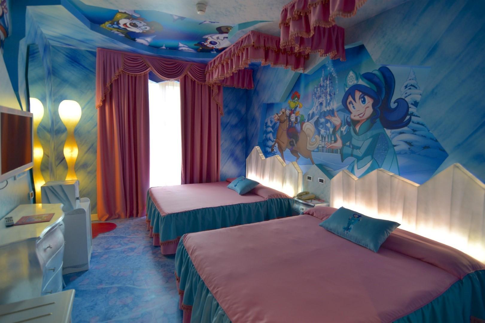 Camere A Tema Disney : Alberghi da sogno per dormire in una favola tgcom24