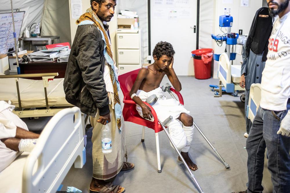 Yemen, civili intrappolati tra le mine