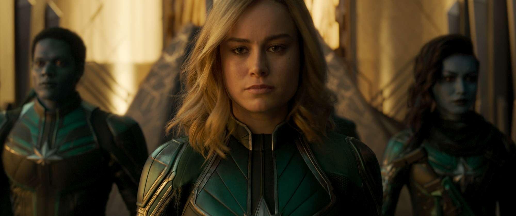 Captain Marvel , alcuni immagini del cinecomic